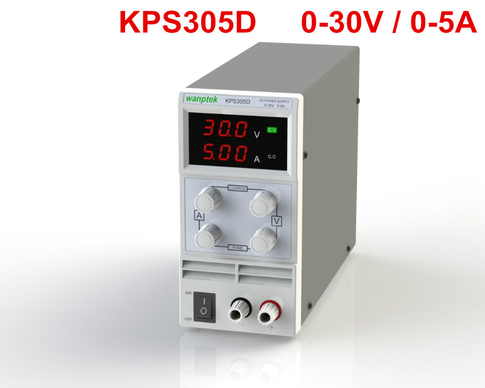 wholesale KPS305D 30V 5A Switch DC power supply 0.1V 0.01A Digital Display adjustable Mini DC Power Supply