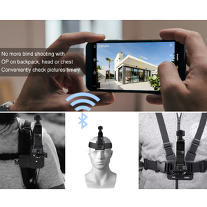 Image 2 - Zaktualizowane Bluetooth bezprzewodowy Adapter modułu dla DJI OSMO kieszeń kardana ręczna kamera bezprzewodowa Bluetooth do montażu na Adapter do gopro