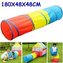 180 cm Ultra kind spielzeug zelt tunnel für kinder creeping zelt tunnel kinder ball zelt tunnel portable play tent rohr ZP37b