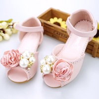 New Fashion 2018 Children Sandals Girls Shoes Summer Princess Flowers Baby Girl Sandals Comfortable Kids Shoes for 4 12years