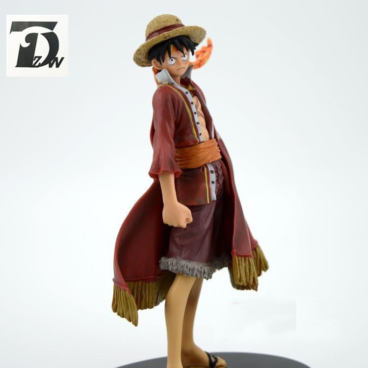 TD ZW One Piece Anime figure Captain Monkey D Luffy PVC toy Action Figure Models For Collection Kids Gift Without Box