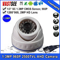 960P Camera AHD 1.3MP SONY sensor room dome indoor Low Illumination DWDR HD Analog CCTV Camera+Freeshipping