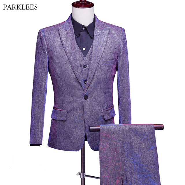 (Jacket+Pant+Vest) Men Suit Brand Mens Formal Dress Suits Stage Costumes Wedding Groom Tuxedo Costume Homme Terno Masculino XXL 1