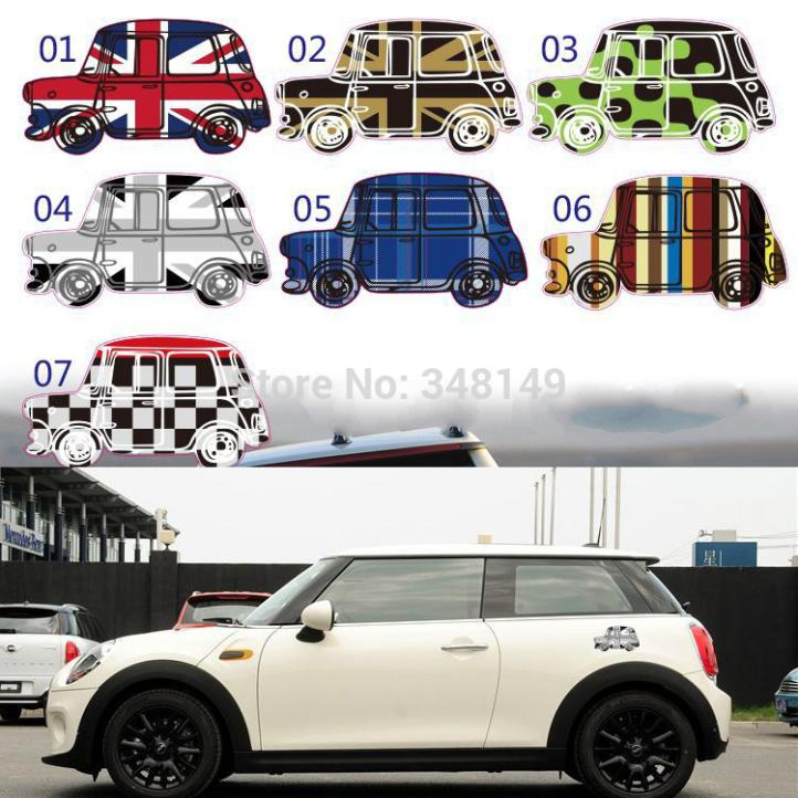 Aliauto car decoration scratch stickers personalized decals customizable accessories for mini cooper r50 r53 r56 r57 r58 in car stickers from automobiles