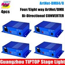 Cheap Price 4x Art Net Ethernet DMX 4 2048 Led Stage font b Lighting b font