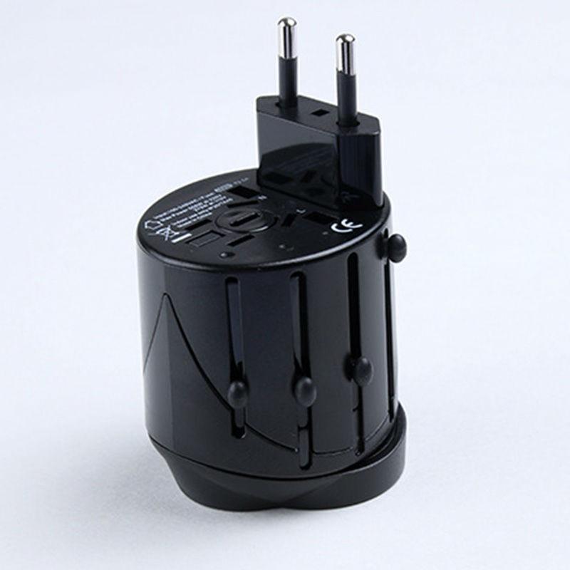 universal international plug adapter 2 usb port