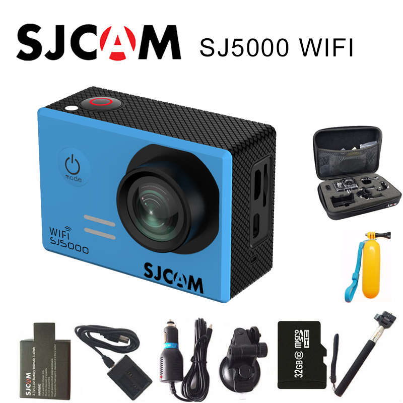 Original SJCAM SJ5000 WIFI Action Camera 1080P Full HD Sports DV 2 inch Screen 30m Waterproof SJ 5000 Cam Novatek 96655