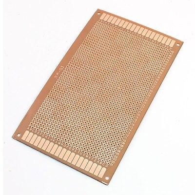 2.54mm Pitch PCB Board Prototype Breadboard Single Side 90mm x 150mm Brown msp430 development board microchip msp430f149 program breadboard