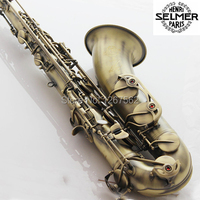 High Quality France Selmer Tenor Sax Bb 54 Professional Reference Sax Bronze Musical Instruments
