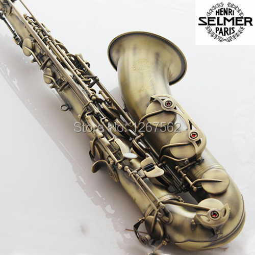 High Quality France Selmer Tenor Sax Bb 54 Professional Reference Sax Bronze Musical Instruments high quality pump bb b40y1