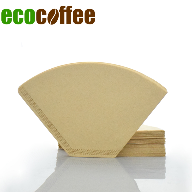 Free Shipping 102 Coffee Filters 100PCS Per Bag Coffee Dripper Filter American Coffee Maker Accessories Coffee