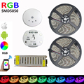 Wifi Controller full set 10M 5050 RGB LED Strip 300 Leds IP20 Led SMD Non-Waterproof +12V 60W Power Adapter