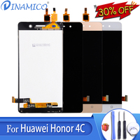 Dinamico G Play Mini Lcd CHC U01 U03 Display Repalcement For Huawei Honor 4C Lcd With Touch Screen Digitizer Assembly 5.0+Tools