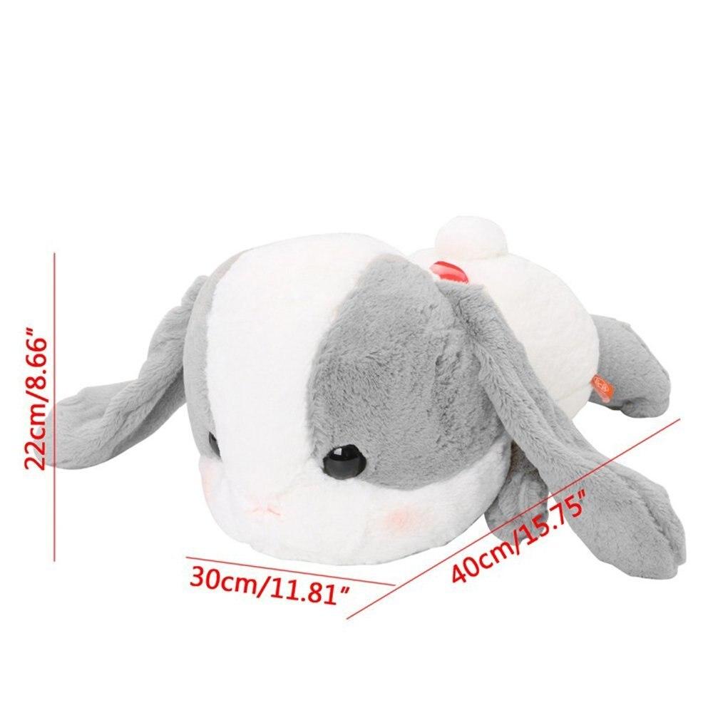Super Jumbo Sleepy Tsumikko AMUSE Pote Usa Loppy Cuddly Bunny With Big Head Fluffy Rabbit Plush Toy Lying Cushion Pillow Gift юбка amuse бежевый
