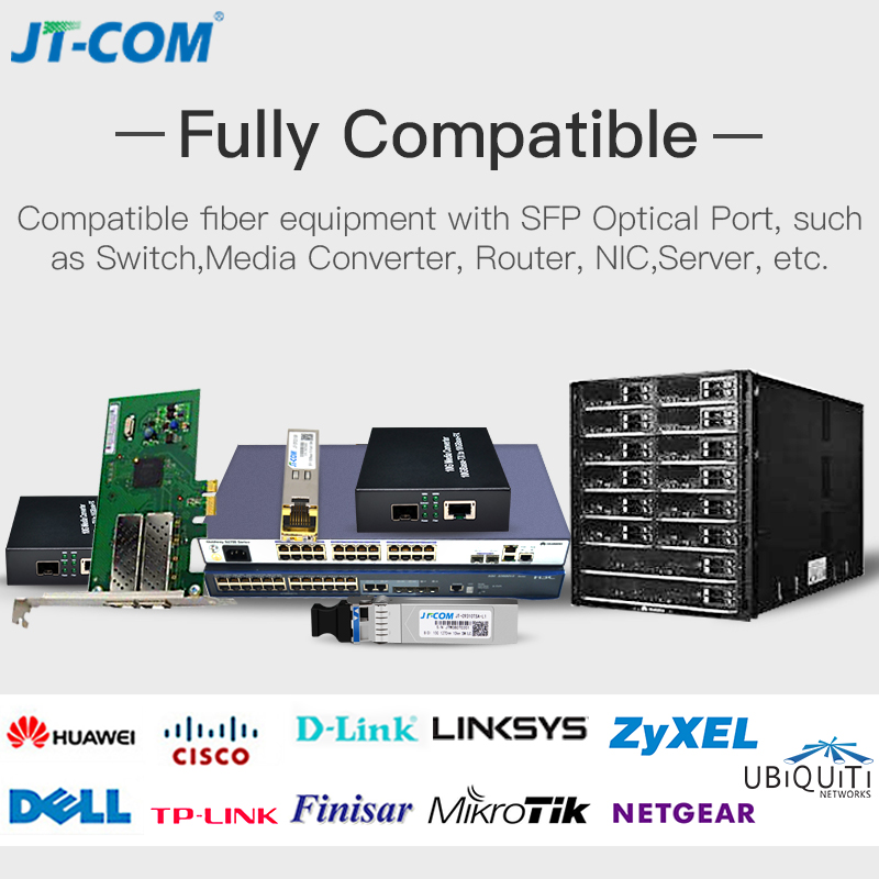 Image 2 - 10Gb 300m MM SFP Module Multimode Duplex Fiber Transceiver LC Optical Connector SFP 10G SR Compatible with Cisco Mikrotik Switch-in Fiber Optic Equipments from Cellphones & Telecommunications