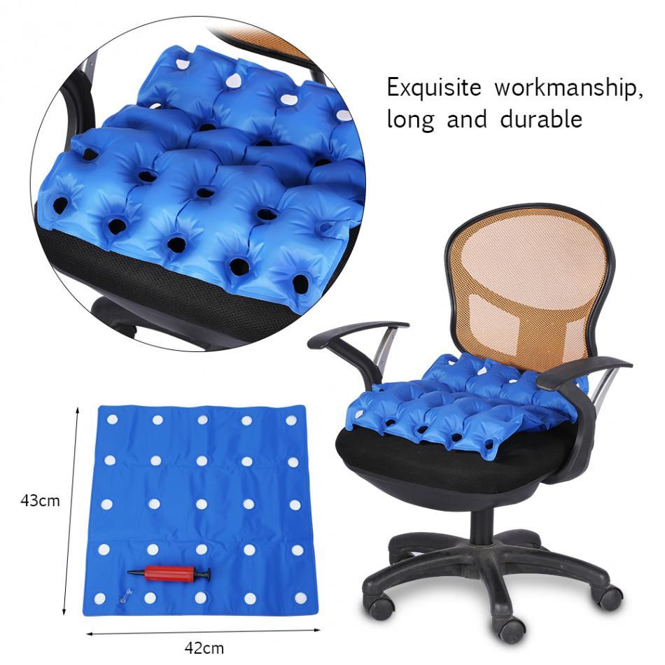 Aufblasbare PVC Sitzkissen Hause Büro Sitze Hüfte Massage Anti Dekubitus Dekubitus Medizinische Rollstuhl Pad Air Kissen Stuhl Matte