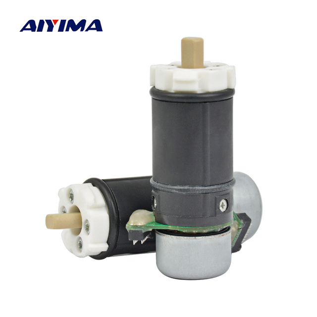 AIYIMA 2pcs Micro DC Brushless Motor 22MM Planetary Gear Motors External Rotor With Hall Reducer Motore Free Shipping