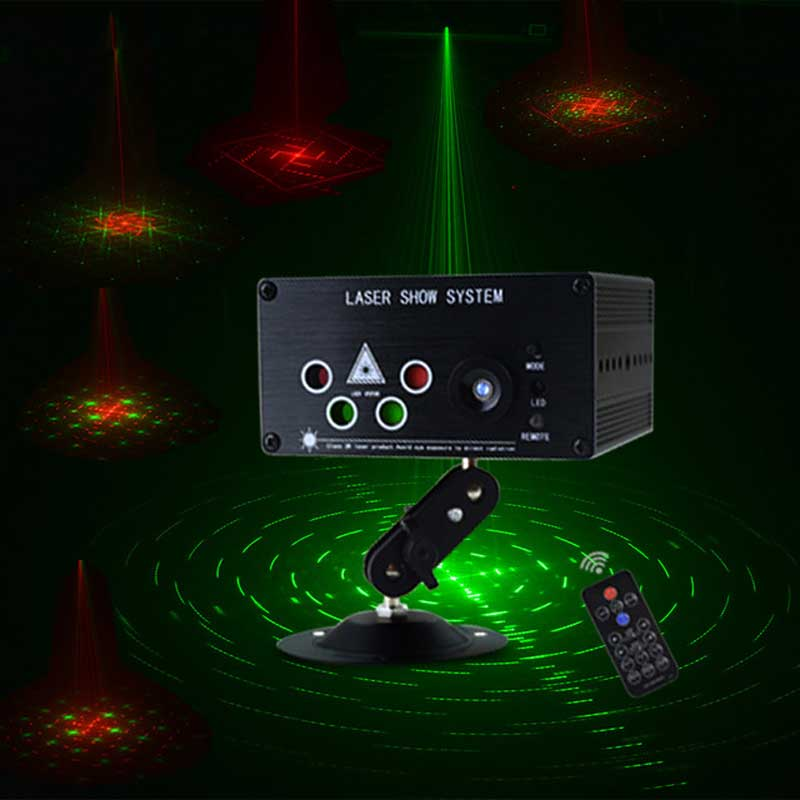 ANYIGE Mini LED Laser Light RGB 120 Patterns 5 Lens Laser Projector 3W Blue LED DJ Party Disco Laser LED Stage Lighting Effect atotalof 24 patterns rgb mini laser projector light dj disco party music laser stage lighting effect with led rgb xmas lights