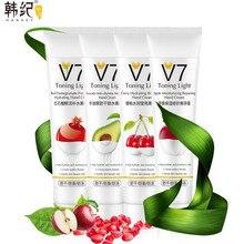 HANKEY V7 Hand Cream Apple Cherry Avocado Red Pomegranate Moisturizing Repairing Freshing Winter Hand Care Lotion 80g