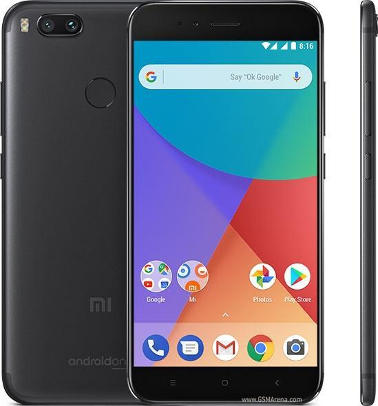 Xiao mi mi A1, Version globale, double SIM, 64 go de mémoire dur interne, couleur noir-Smartphone entièrement gratuit.