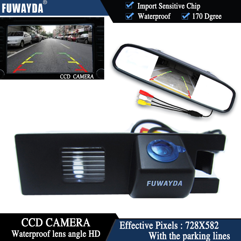 4.3/'/' LCD Mirror Monitor /& Reverse Camera For Opel Vauxhall Corsa Astra