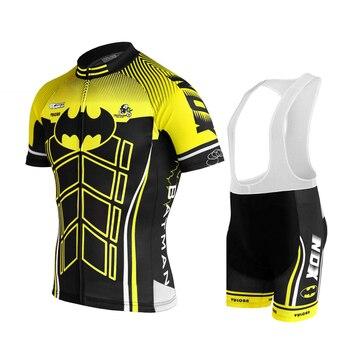 IRONANT Conjuntos Dos Homens camisa de Ciclismo Ciclismo de Verão de Manga Curta Roupas de Ciclismo Bicicleta Roupas 2019 Equipe Pro 2019 Novo Preto