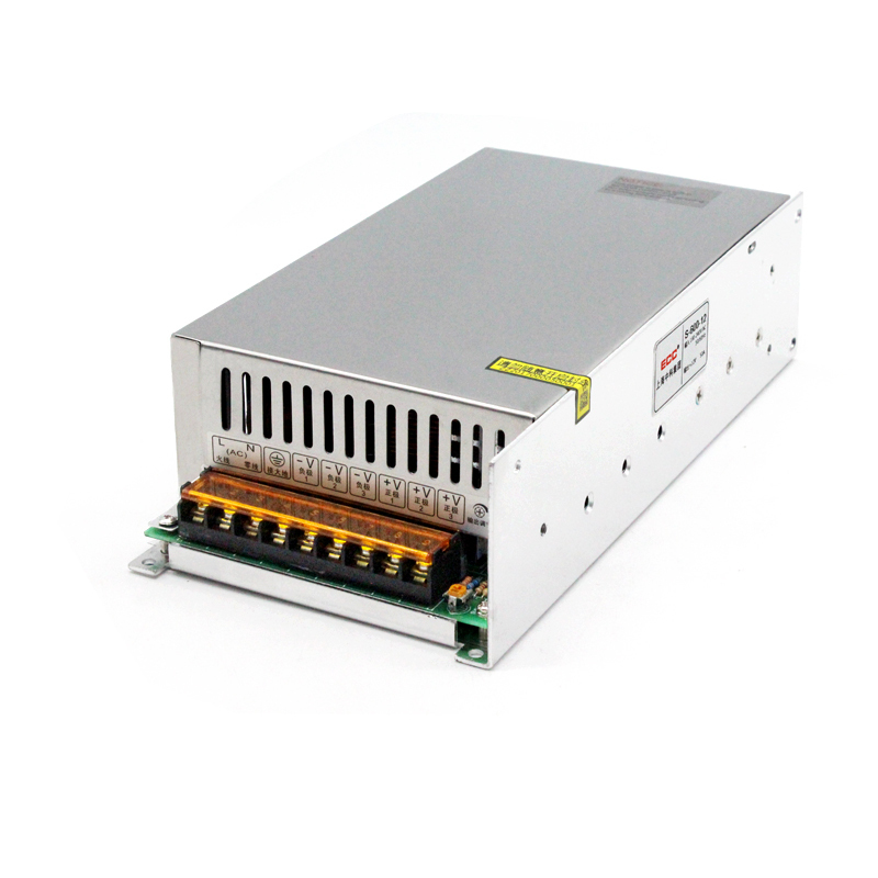 Switching Power Supply S-600W-12V 50A Industrial Monitor Video Camera AC Change DC Direct Package Postal цена