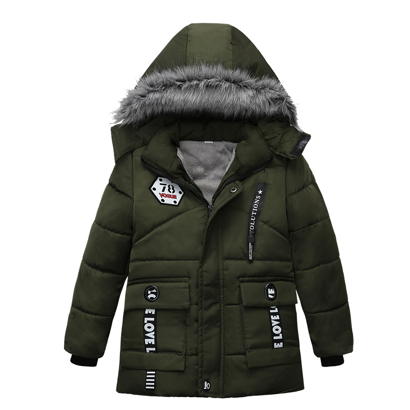2018 boys men's jackets, winter men's wear, men's children's wear jackets, children's garments, coats, down garments, baby cloth(China)