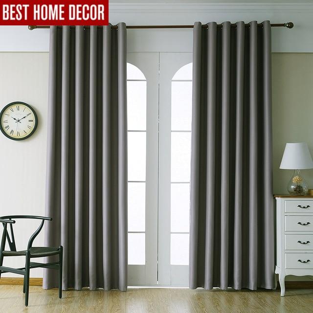 Moderne verduisterende gordijnen voor woonkamer slaapkamer gordijnen ...