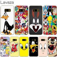 e093c7523a0 Lavaza Looney Tunes funda para Samsung Galaxy S3 S4 S5 Mini S6 S7 S8 S9 Edge