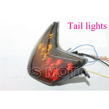 Motorcycle Part parts Tail Light For Kawasaki Ninja ZX-6R ZX636 ZX-6RR ZX600 Z750S ZX-10R ZX1000 smoke