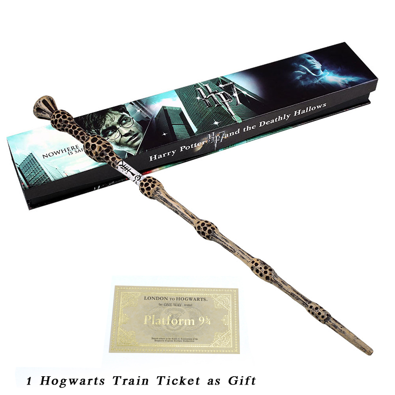 Christmas Gift Albus Dumbledore Magic Wand / Harry Potter Magical Wand /Harry Potter Stick /Ribbon Gift Box Packing