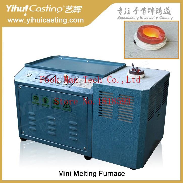 Yihui brand advanced technology mimi induction melting furnace, for gold, silver melting advanced engine technology