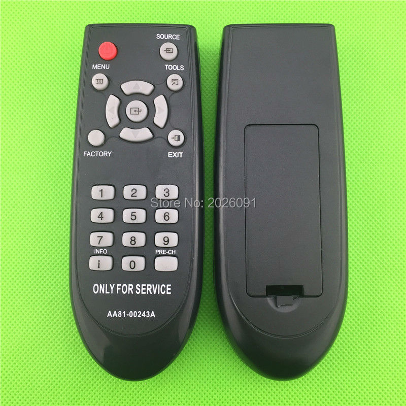 SERIVCE REMOTE CONTROL FOR TV JS SERIE / JU SERIE / J SERIE