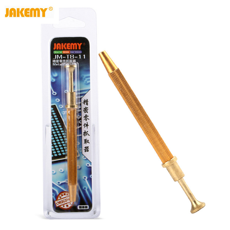 Jakemy JM-T8-11 Precision Parts Grabber IC Chip Components Catcher Clamping Clip Pick Up Tools Four Claw Hold Tightly Hand Tools