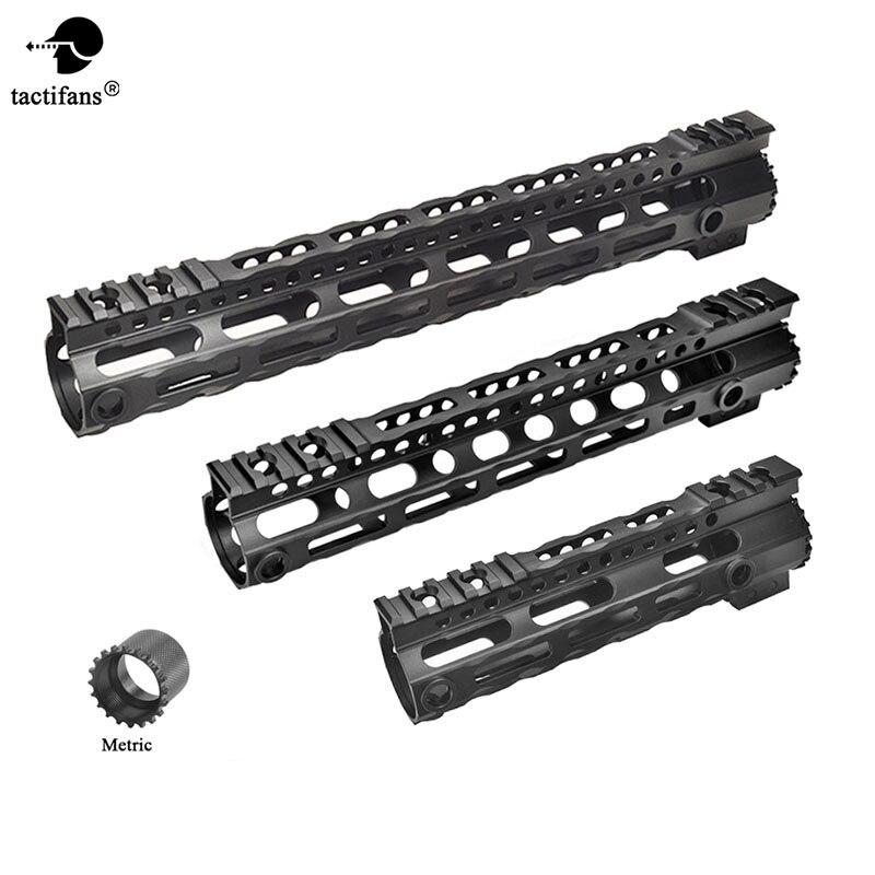 AR 15 M4 Ultra lightweight Free Float Handguard Tactical 20mm Picatinny Rail Base Forend Scope Mount