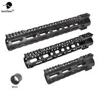 AR 15 M4 Ultra lightweight Free Float Handguard Tactical 20mm Picatinny Rail Base Forend Scope Mount M LOK 7.25'' 10'' 12.5''