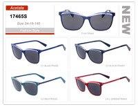Оптовая продажа мужские Ацетат Ручной работы поляризованные бордовые солнцезащитные очки