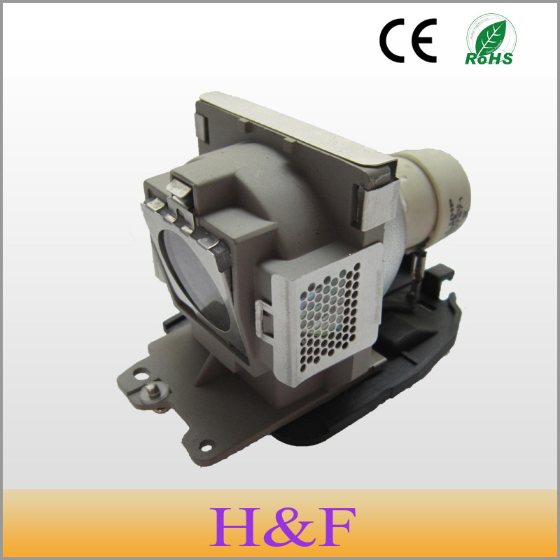 Free Shipping 5J.06001.001 Compatible Replacement Projector Lamp With Housing For BENQ Mp610 Mp622  Projetor Luz Proyector Luz free shipping rca 270414 rear replacement projection tv lamp projector light with housing for rca proyector projetor luz lambasi
