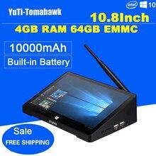 Newest 10 8 Inch 1920 1280 PIPO X10 Pro Mini PC Windows 10 TV Box Z8350