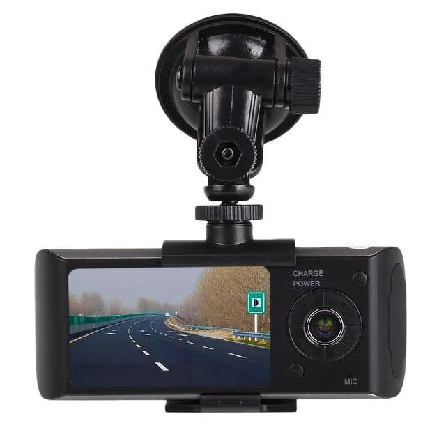 """2.7 """"ЖК-1080 P HD Автомобильный DVR Автомобиля Видеокамера Даш Cam Мини Микро Камеры Приборной Панели G-датчик с Двумя Объективами"""
