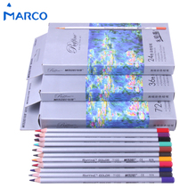 Marco 24 36 48 72Colors Lapis De Cor Prismacolor Colored Pencil Set For Drawing Sketching Stationery