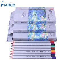 Купить Марко 24/36/48/72 Цвета Ляпис de Cor prismacolor Цветной карандаш набор для рисования эскизов канцелярские карандаш школьные товары для рукоделия