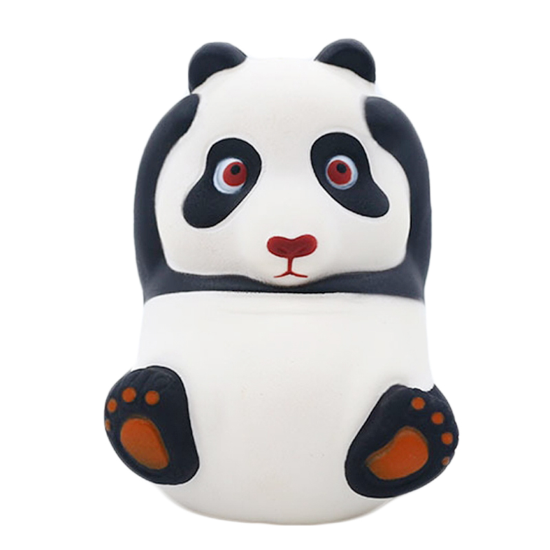 2019 New Kawaii Panda Squishy Simulation Animal Bread Scented Slow Rising Soft Squeeze Toy Stress Relief For Kid Fun Gift 9*12CM