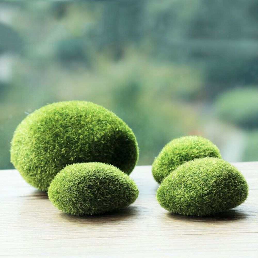 Artificial Moss Moulds Fake 6 Pack Garden Decor Displays Tanks