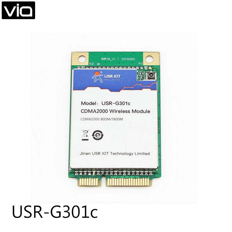 USR-G301c Free Shipping 3G Embedded Module UART/USB to CDMA 1x and CDMA EV-DO Data Transmission Function Supported extra low power embedded data radio modem data transmission module for arduino