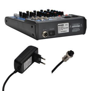 Image 2 - LOMOEHO AM 04 2 Mono + 1 Stereo 4 Channels Bluetooth USB 48V Phantom Professional DJ Audio Mixer