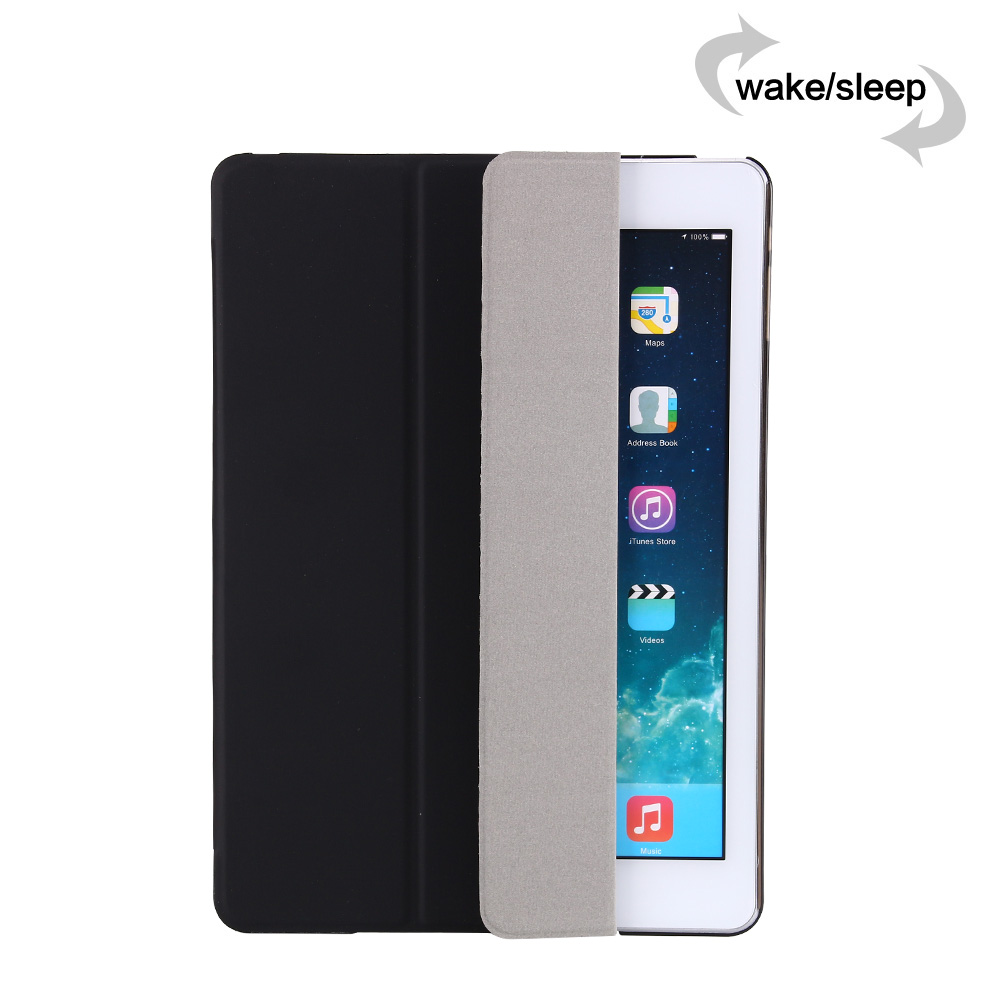Case For Ipad Mini 4 3 2 1 Case PU Leather + PC Hard Back Trifold Stand Auto Sleep/Wake Up Smart Cover For Ipad Mini 4 Case