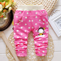 2016 Spring & Autumn New Baby Pants Cartoon Monkey and Dot Pattern Cotton 1 Piece Sport Pants Baby Boy / Girls Pants 0-2 Year