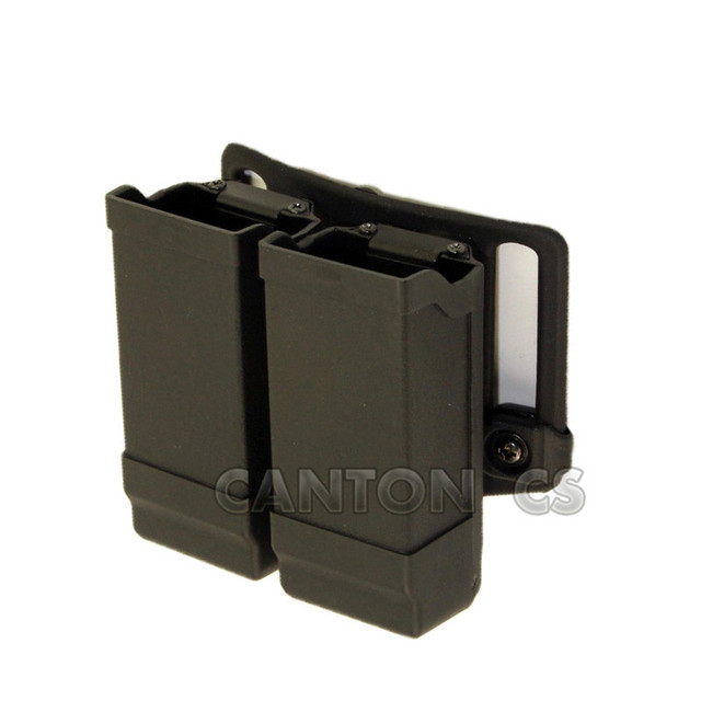 Quick Draw Double Magazine Pouch Case Stack Universal Pistol Gorgeous Duty Belt Magazine Holder